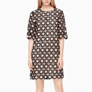 NWT kate spade daisy lace shift dress